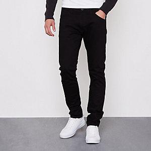 Wrangler - Zwarte Bryson skinny-fit jeans