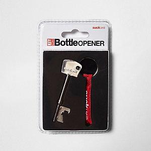 Flessenopener in vorm van sleutel