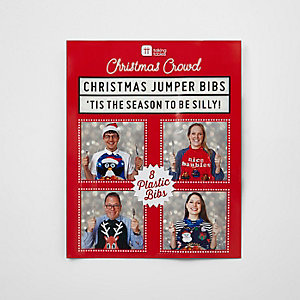 Weihnachtlicher Pulloverkragen