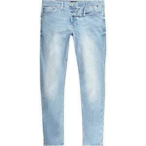 Lichtblauwe wash Sid skinny jeans