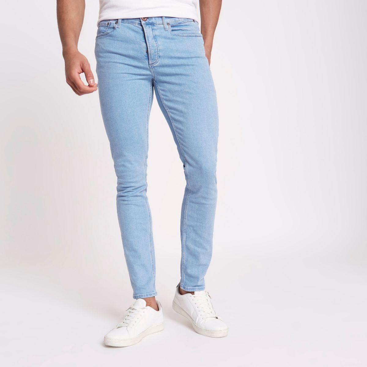 Light blue Sid skinny fit jeans