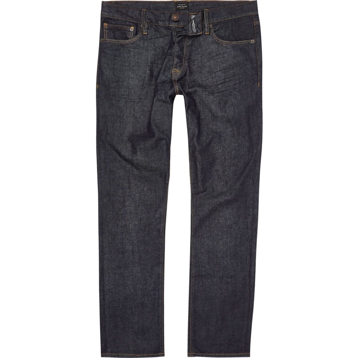 slim Tall Big fit Seth blue dark jeans and ZqxvH