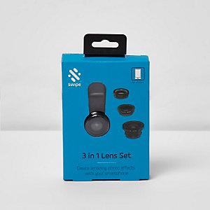 3-in-1-Objektiv-Set für Smartphones