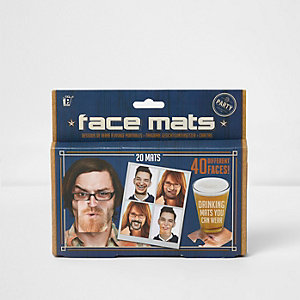 Gesichts-Getränkeuntersetzer