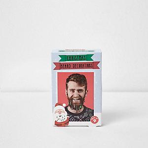 """Weihnachtsdekoration """"Bärte"""""""