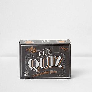 Pub quiz general knowledge cards
