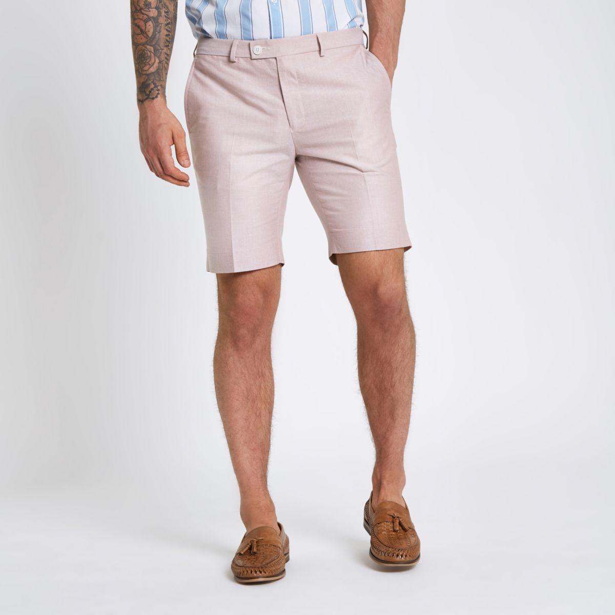 Pink smart shorts
