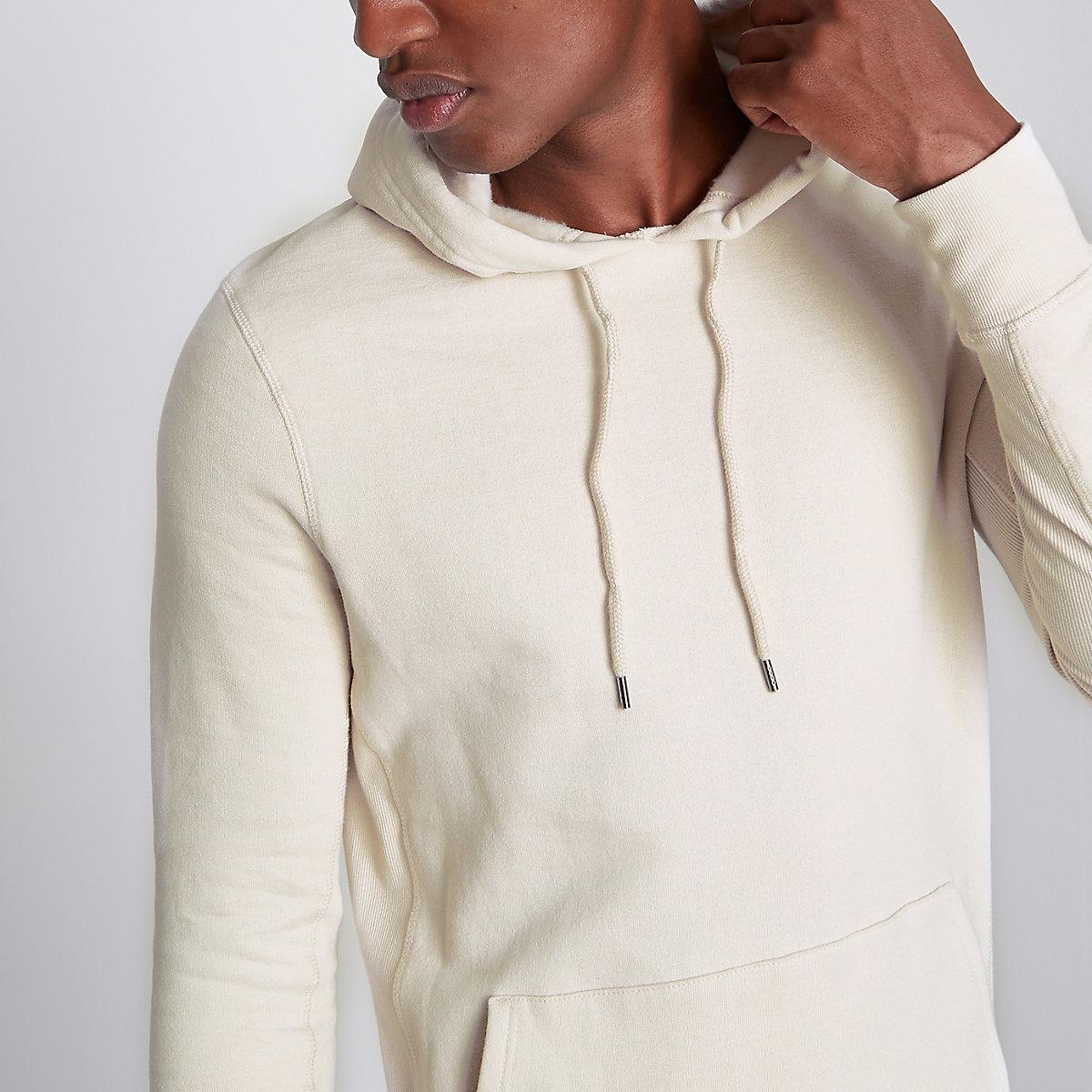 Stone muscle fit hoodie
