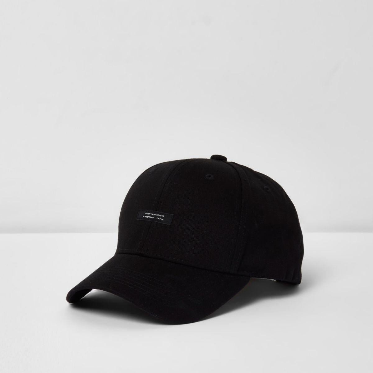 Casquette de baseball noire