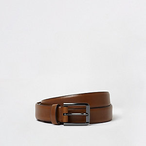 Big and Tall tan belt
