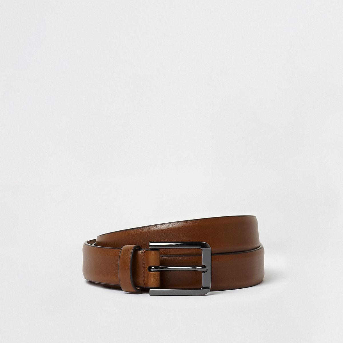 Big and Tall tan belt