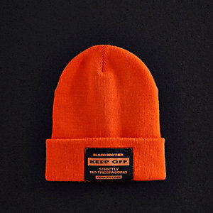 Blood Brother - Oranje beanie