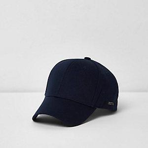 Casquette de baseball bleu marine