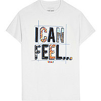 The Mix charity – T-shirt « I can feel » blanc