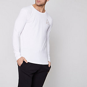White Golden Equation long sleeve T-shirt