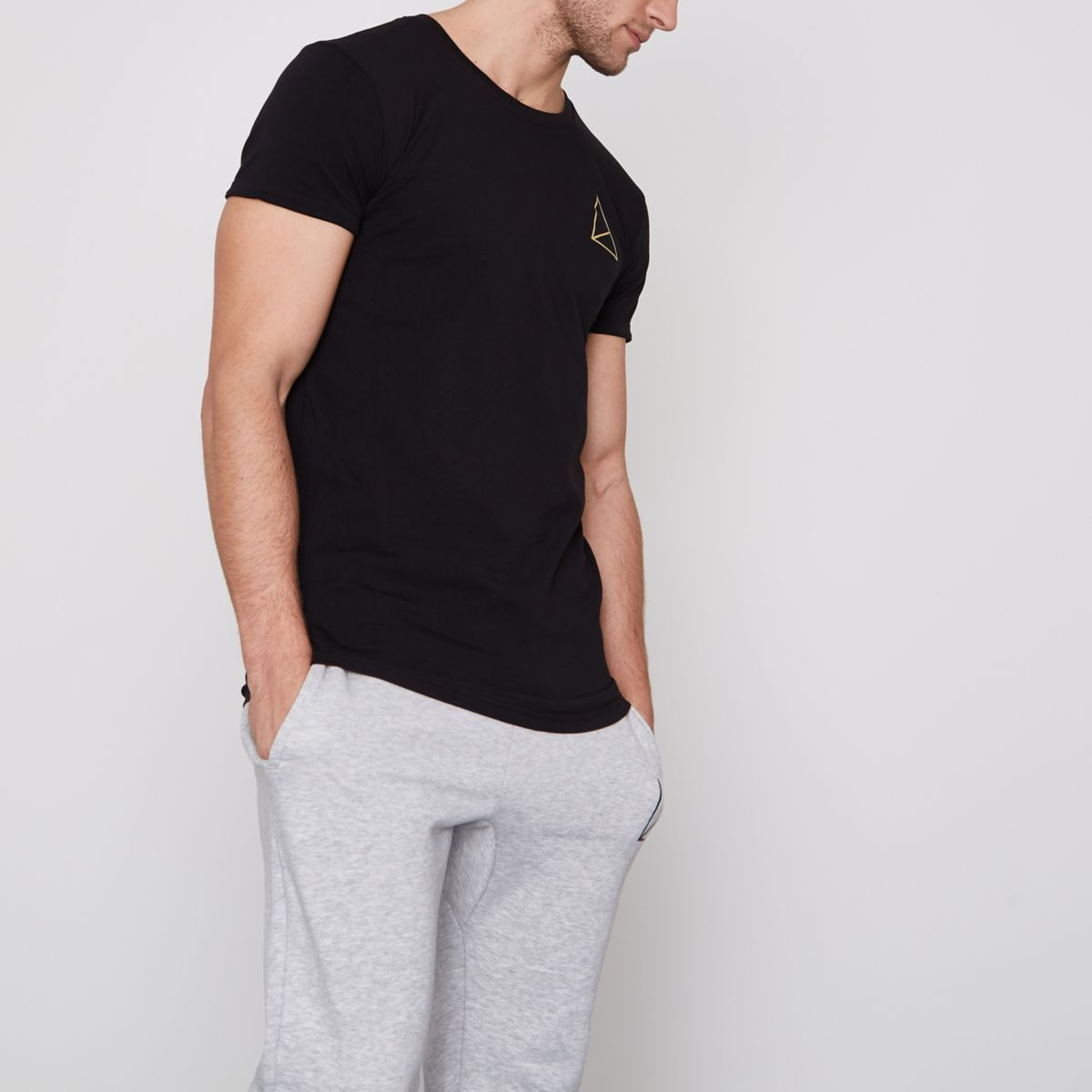 Black Golden Equation short sleeve T-shirt