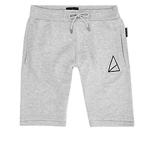 Grey Golden Equation slim jogger shorts