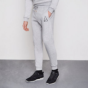 Grey Golden Equation joggers