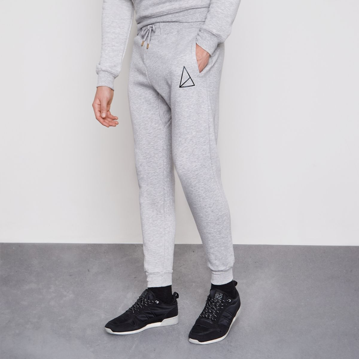 Golden Equation grey joggers