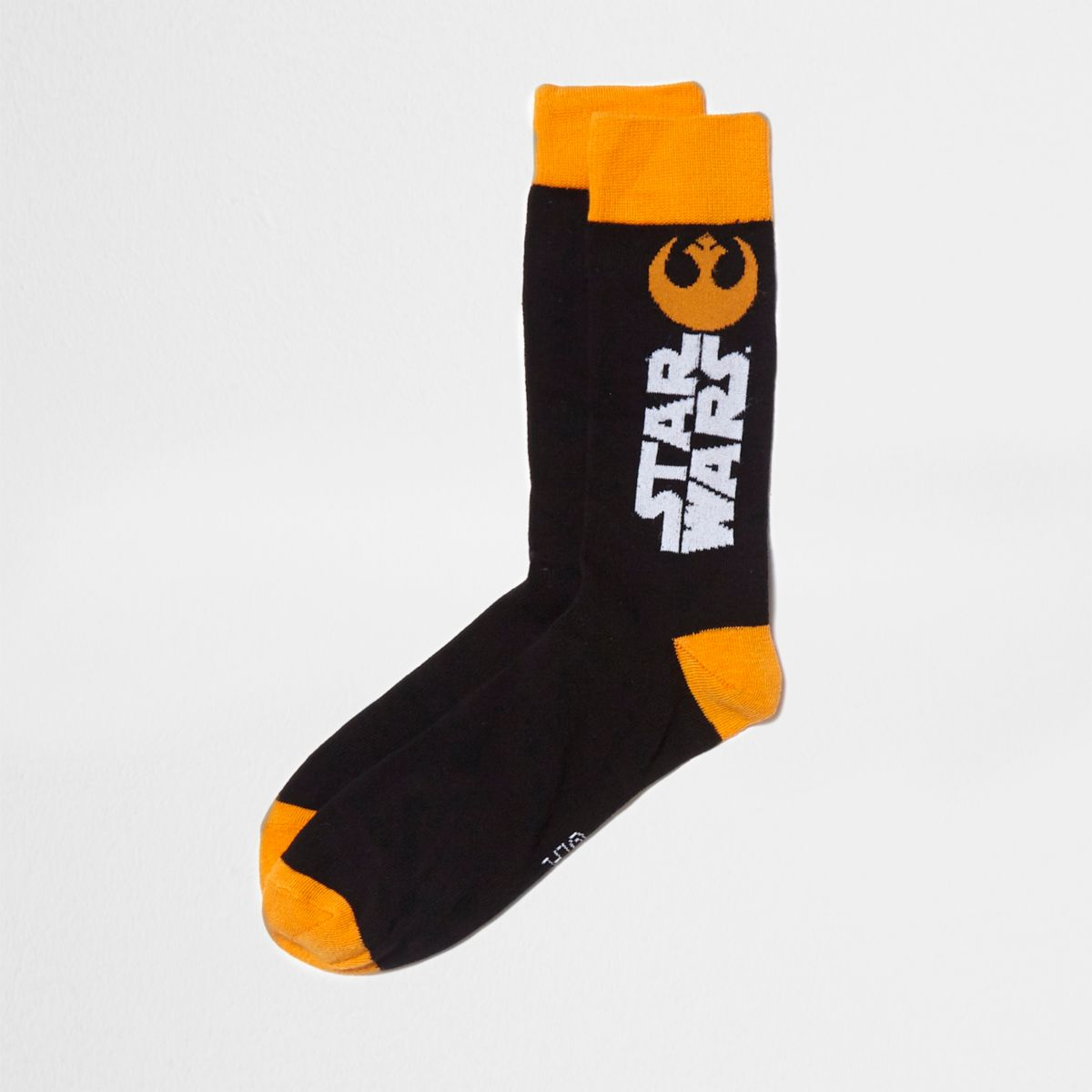 Black 'Star Wars' socks