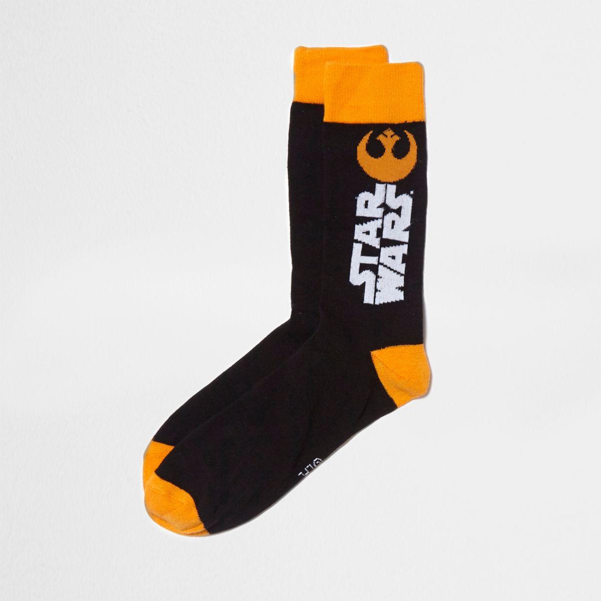 Chaussettes «Star Wars» noires