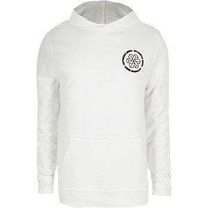 Witte hoodie met 'Notorious Minds'-print