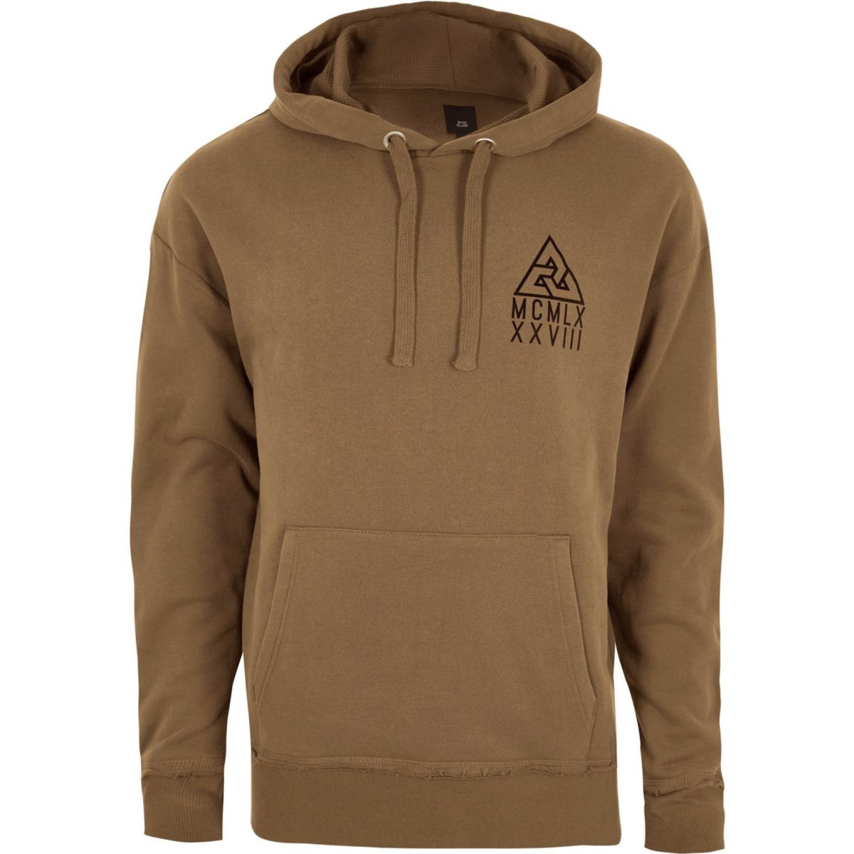 Light brown oversized hoodie