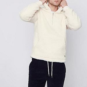 Jack & Jones - Wite borg hoodie
