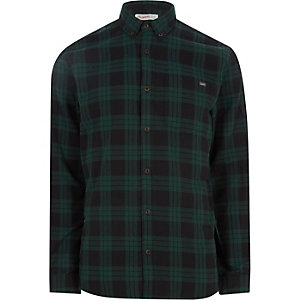 Jack & Jones Originals - Groen geruit jack
