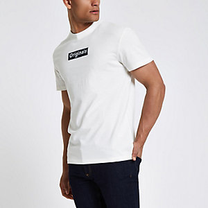 Jack & Jones Originals - Wit T-shirt