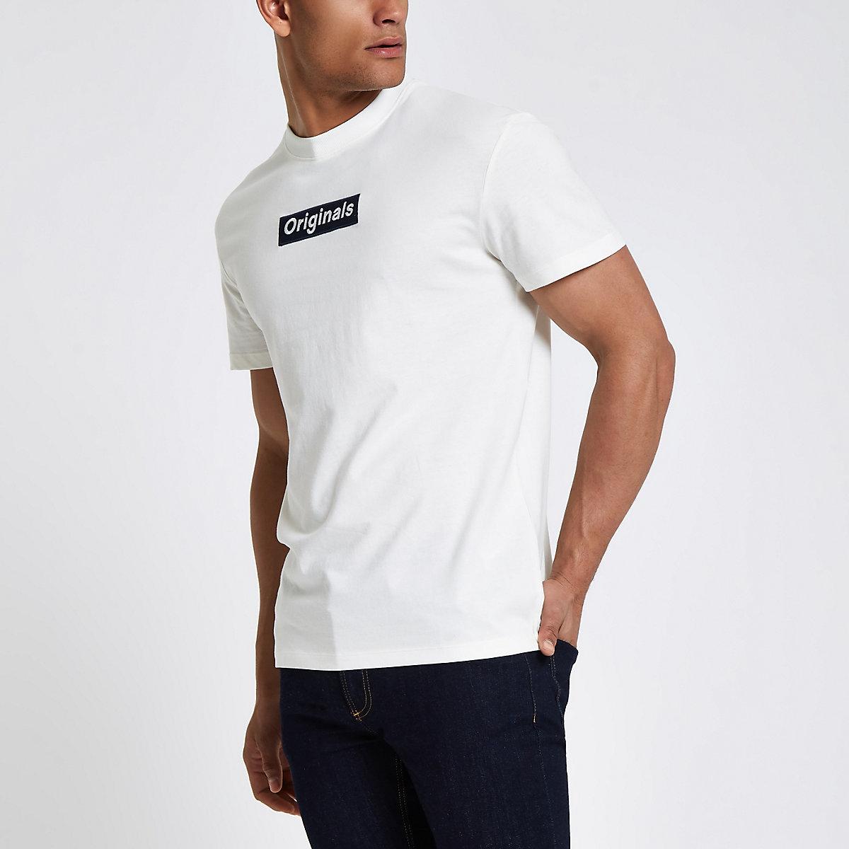 Jack & Jones Originals white T-shirt