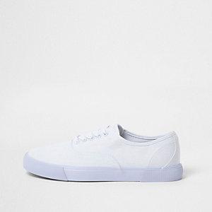 Tennis blanches à lacets