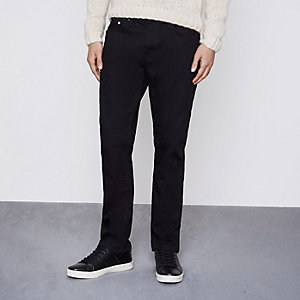 Dean – Schwarze Straight Jeans