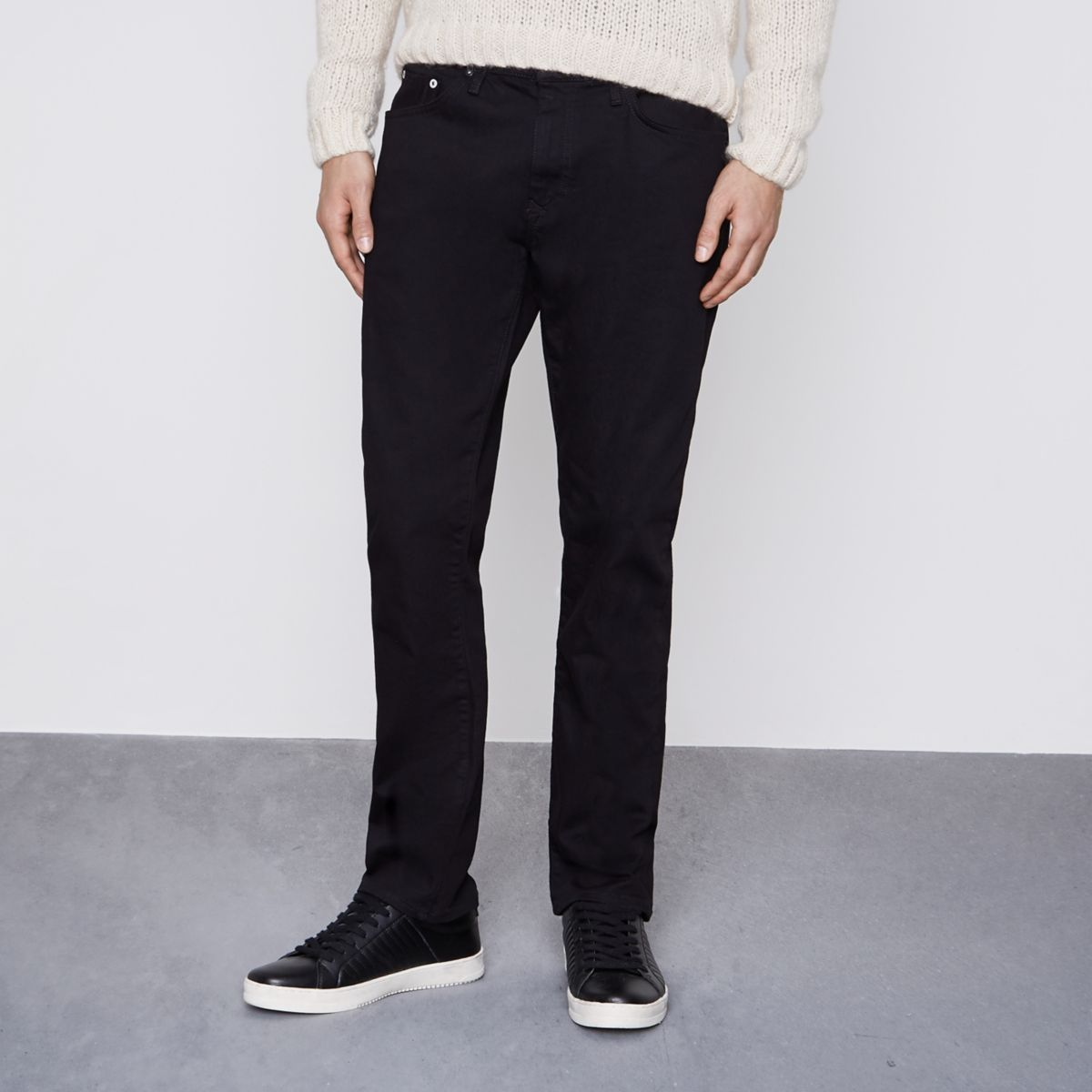 River Island Ripped Jeans Mens