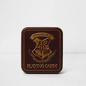 Hogwarts playing cards