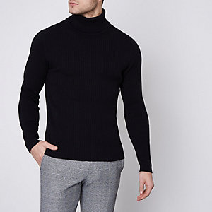Black Jack & Jones Premium roll neck jumper