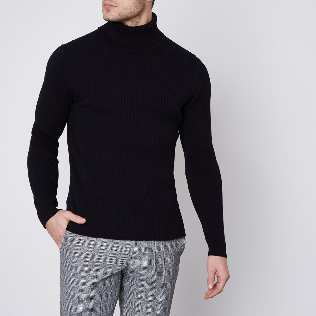 Black Jack & Jones Premium roll neck sweater