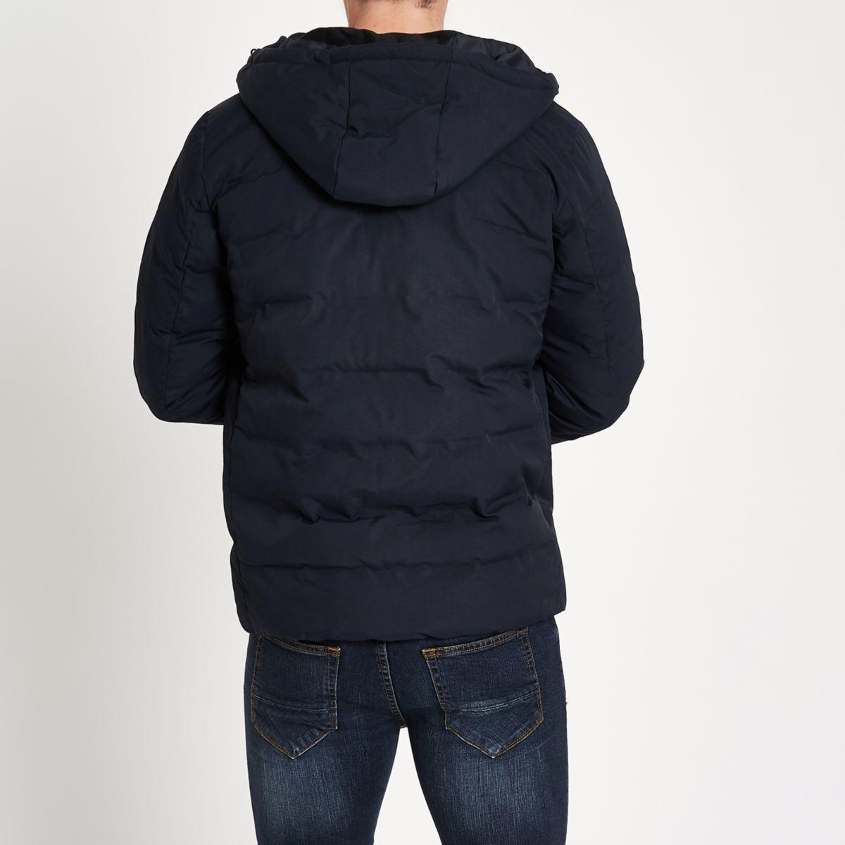 amp; quilted coat Tech navy Jones Jack 7xq0w4dg7