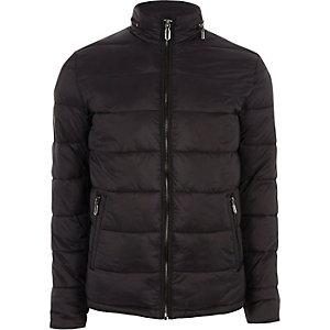 Only & Sons - Zwarte gewatteerde jas
