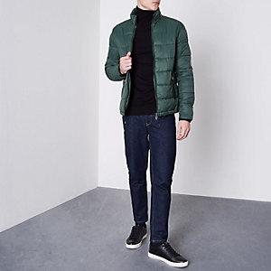 Only & Sons - Groene gewatteerde jas