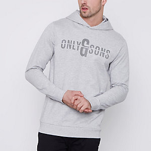Only & Sons – Hoodie mit Druckmuster