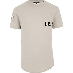 Stone Only & Sons printed pocket T-shirt