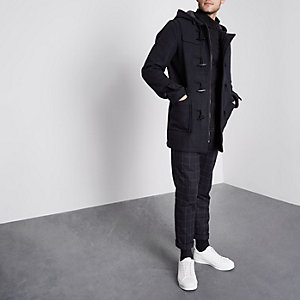 Navy Only & Sons duffle coat