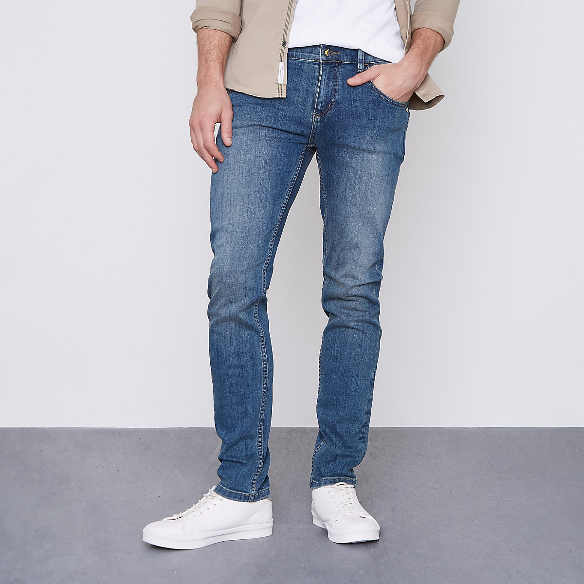Monkee Genes blue classic skinny jeans