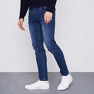 Monkee Genes - Donkerblauwe klassieke skinny jeans