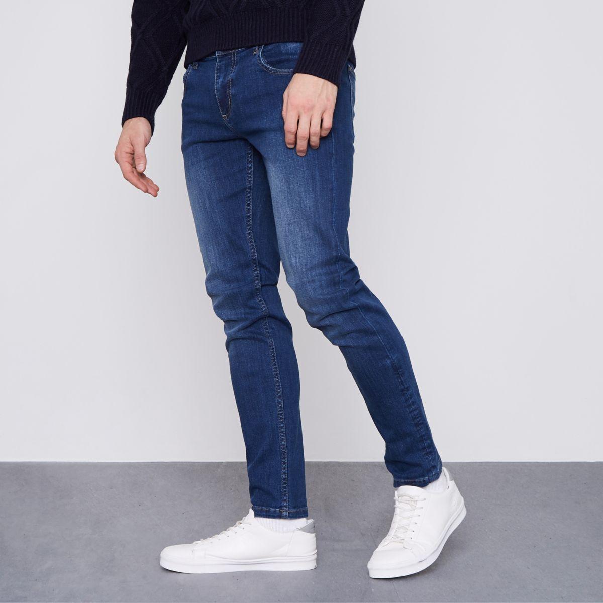 Dark blue Monkee Genes classic skinny jeans