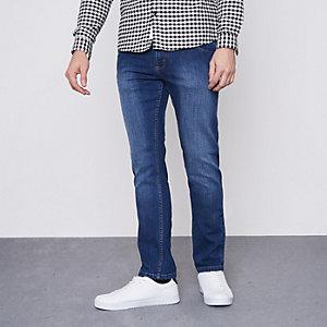 Dark blue Monkee Genes slim fit jeans