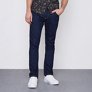 Dark blue Monkee Genes slim fit jeans