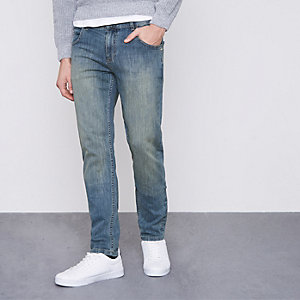 Blue Monkee Genes slim tapered fit jeans