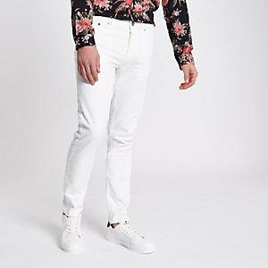Sid witte skinny jeans